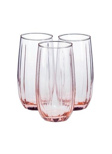 Paşabahçe 420415 6 Lı Linka Bardak Su Bardağı - Meşrubat Bardağı Pembe Pembe